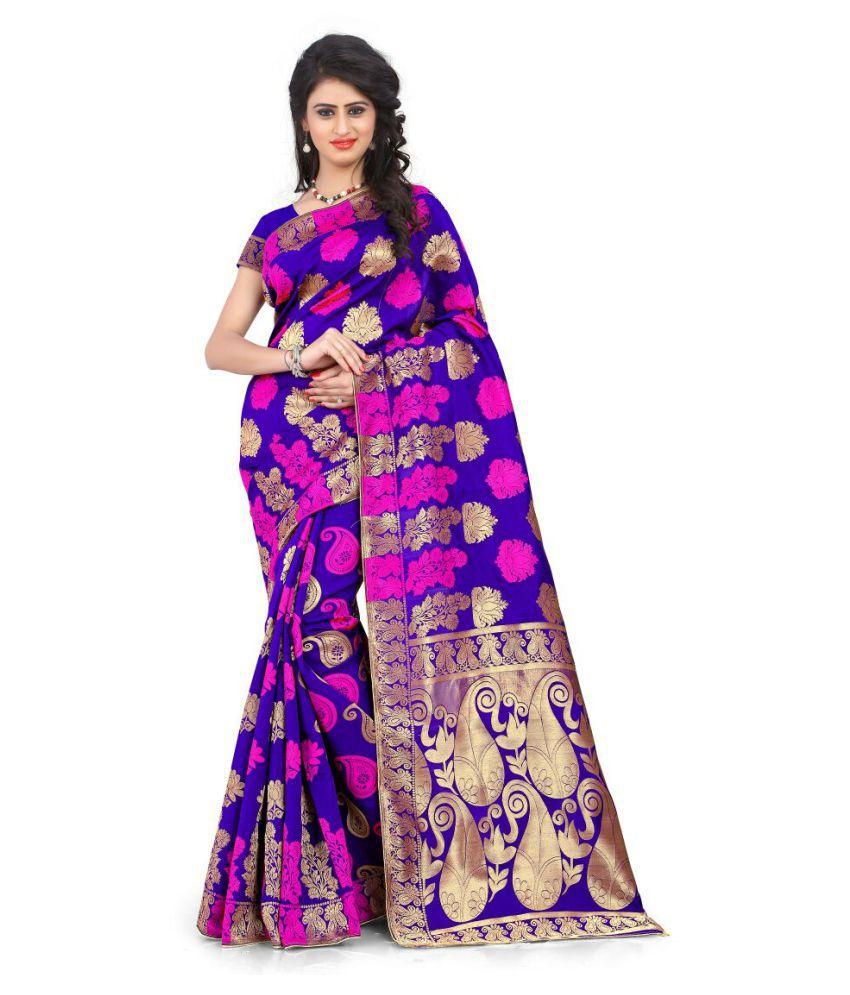 Fab Ikshvaku Multicoloured Art Silk Saree