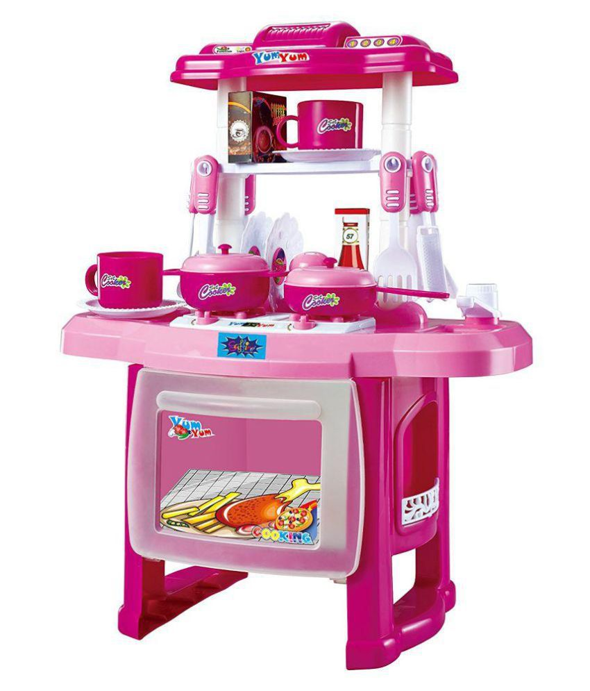 Maruti jvm luxury battery operated portable kitchen set kitchen toys for girls buy maruti jvm luxury battery operated portable kitchen set kitchen toys