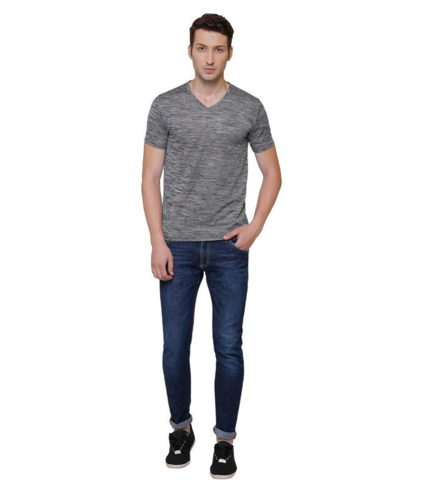 Pali Grey V-Neck T-Shirt