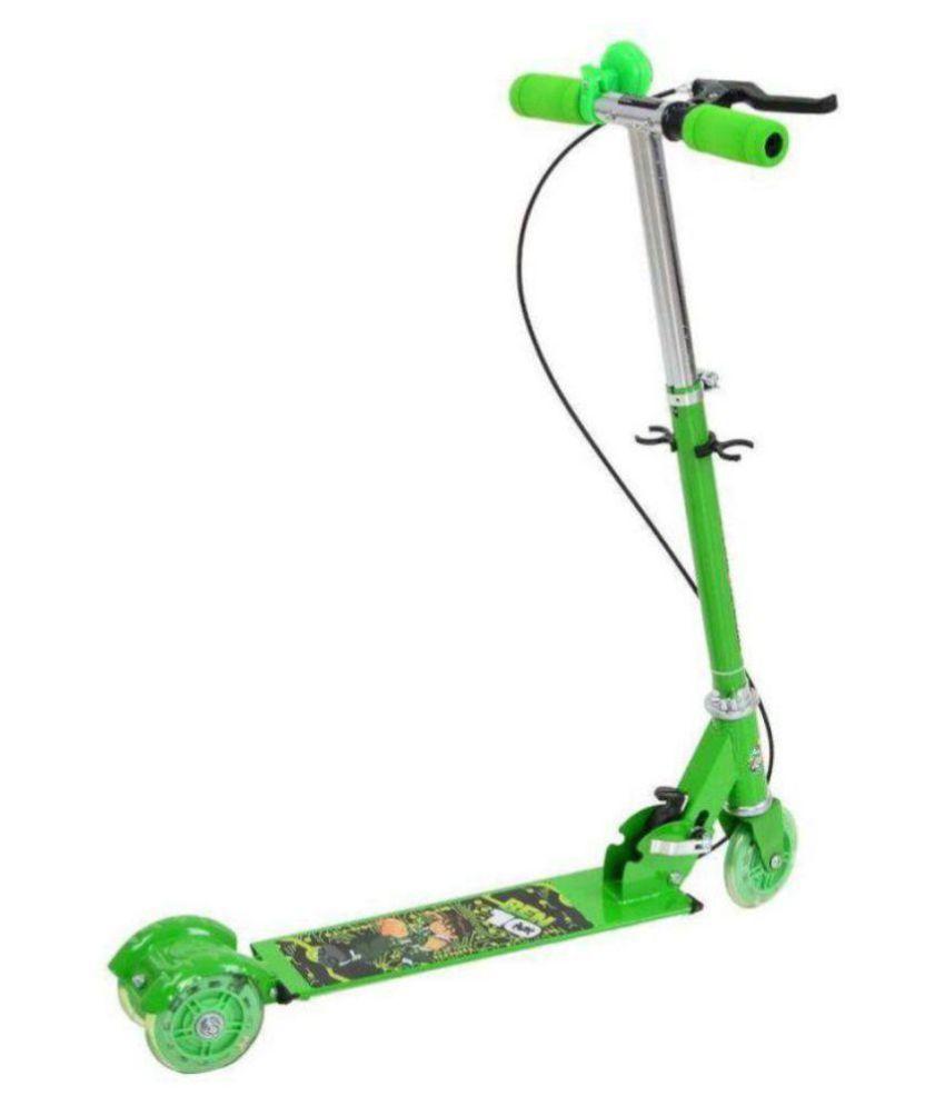 vaibhavi Green Scooter