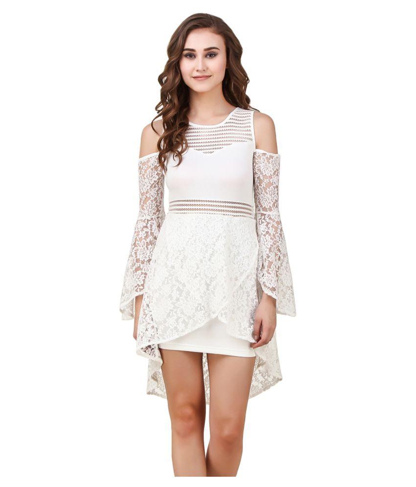 Texco Polyester Asymmetric dress