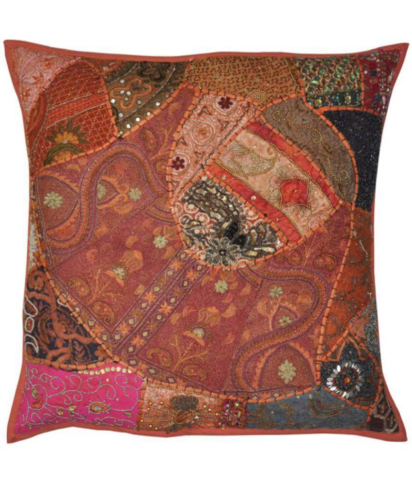 Lal Haveli Single Cotton Cushion Covers 60X60 cm (24 X 24)