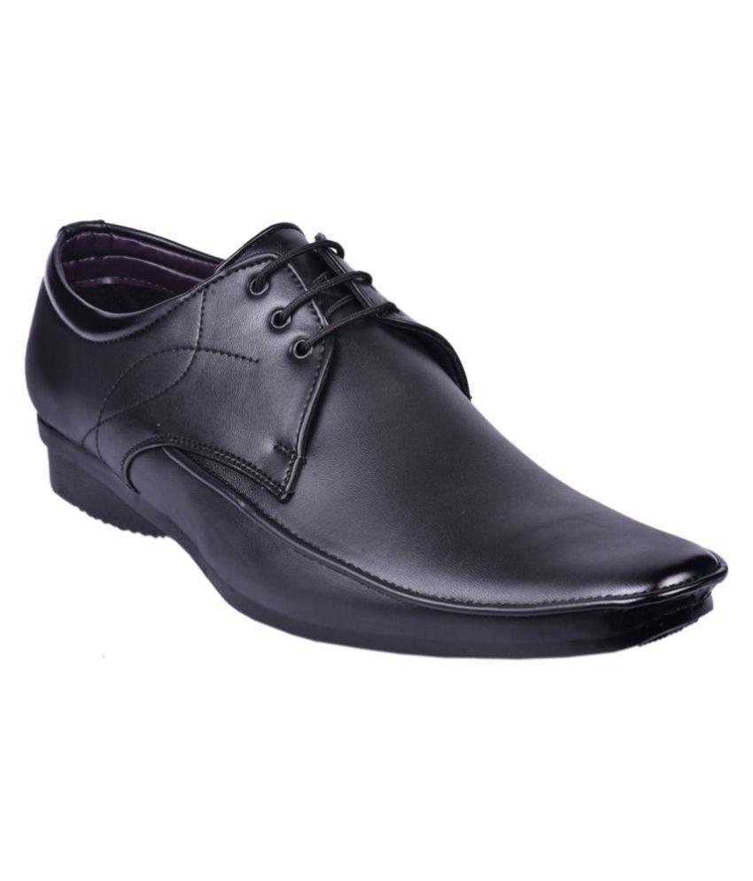 5c3b212b8d7 Ben Parker Derby Artificial Leather Formal Shoes