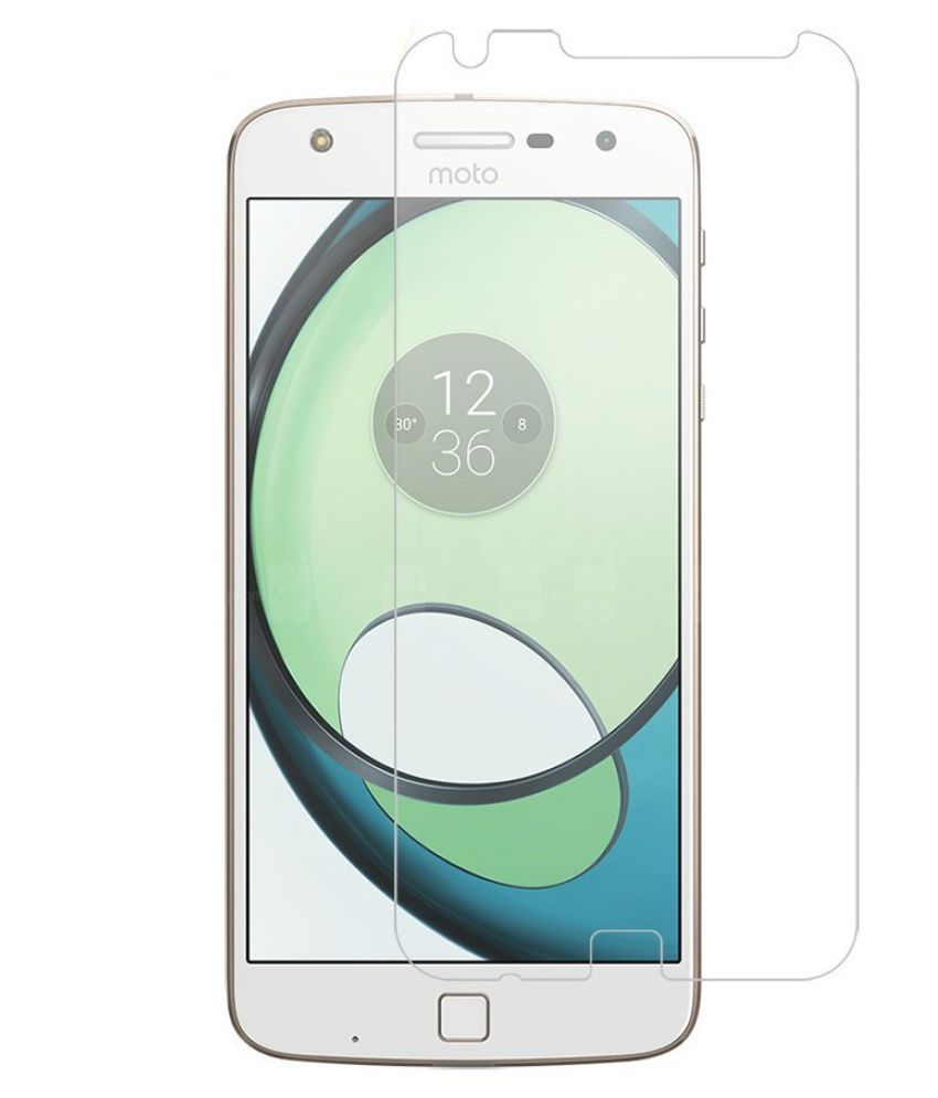 Moto Z Play Tempered Glass Screen Guard By Spectacular Ace