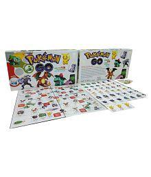 Bonkerz Pokemon Go Family Board Game For 2 to 4 Players`