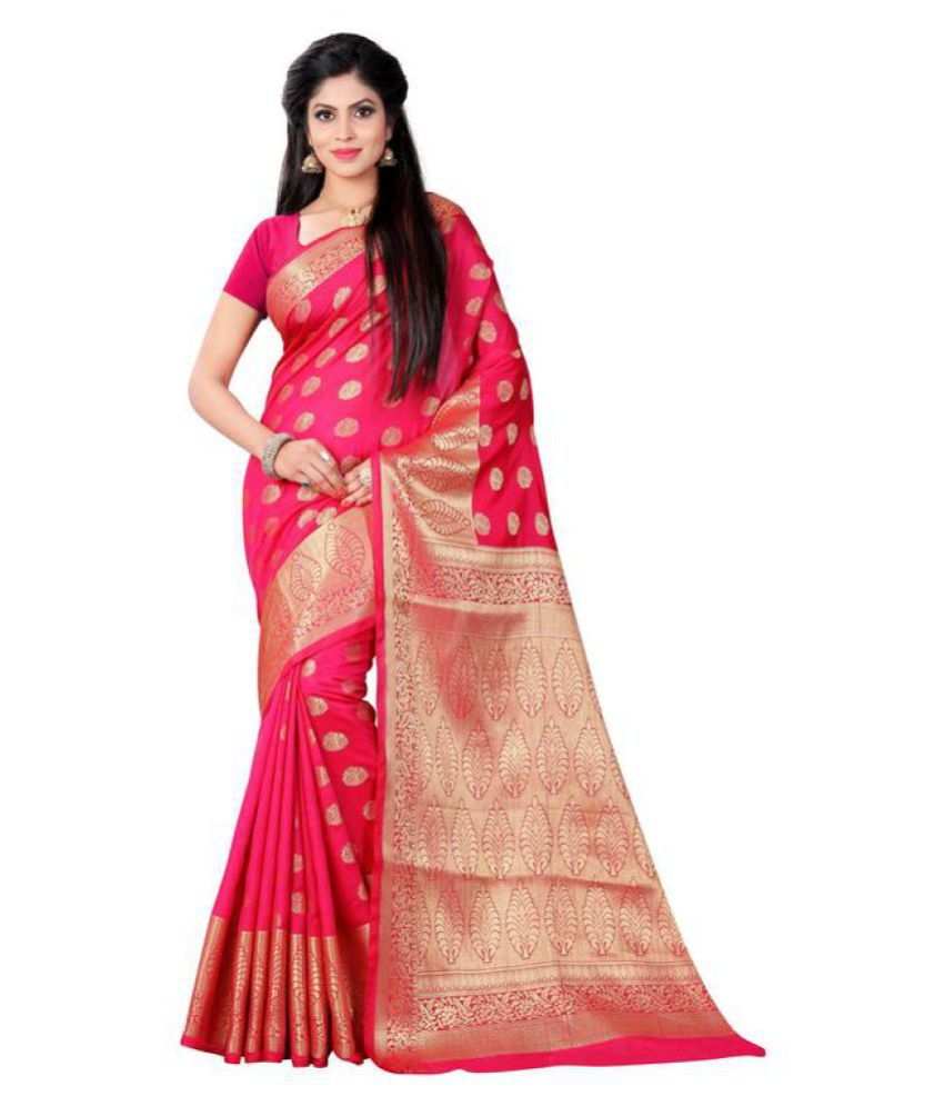 f891c9904e75b9 R K SAREE Red and Pink Raw Silk Saree - Buy R K SAREE Red and Pink Raw Silk  Saree Online at Low Price - Snapdeal.com