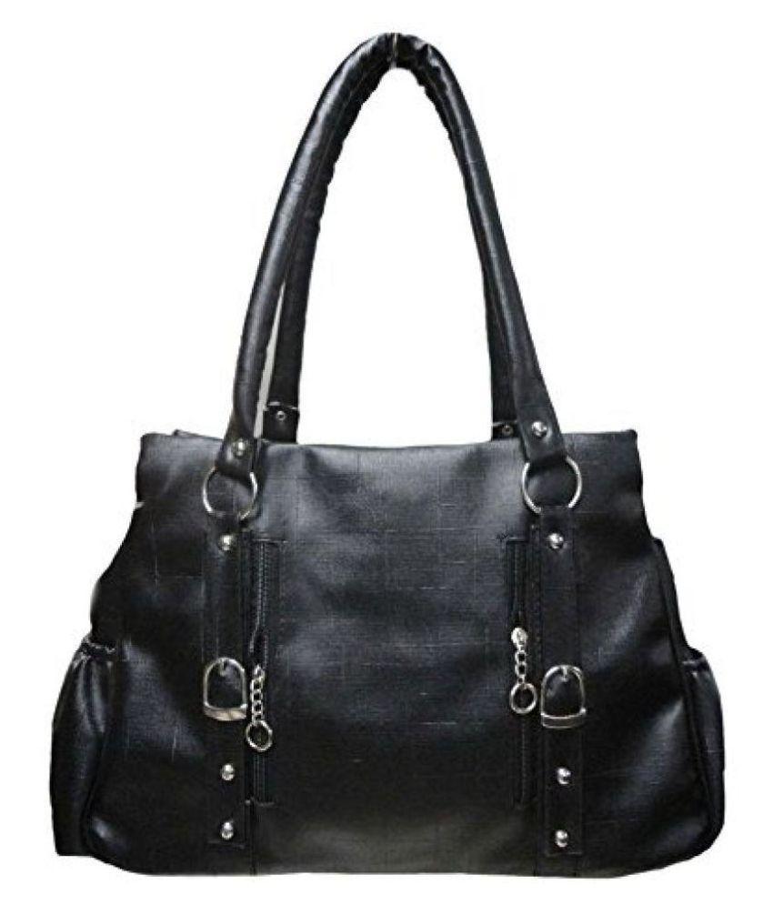AJ STYLE Black P.U. Shoulder Bag - Buy AJ STYLE Black P.U. Shoulder Bag  Online at Best Prices in India on Snapdeal e5abb61271