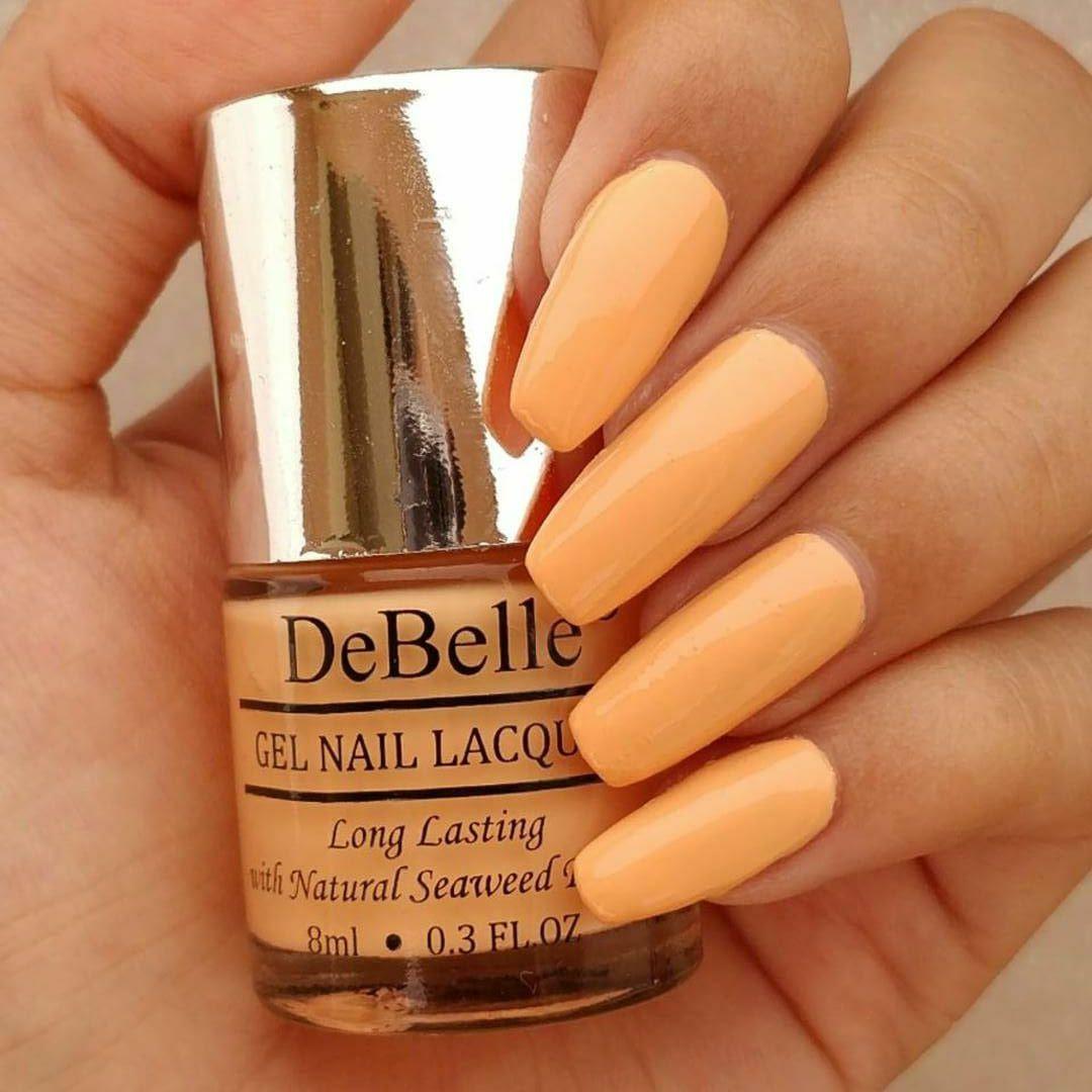DeBelle Nail Polish Peach,Nude Matte 8 ml Pack of 2: Buy DeBelle ...