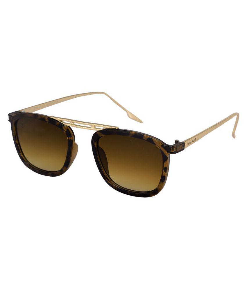 Walrus Rust Rectangle Sunglasses ( WS-CRN-VI-092606 )