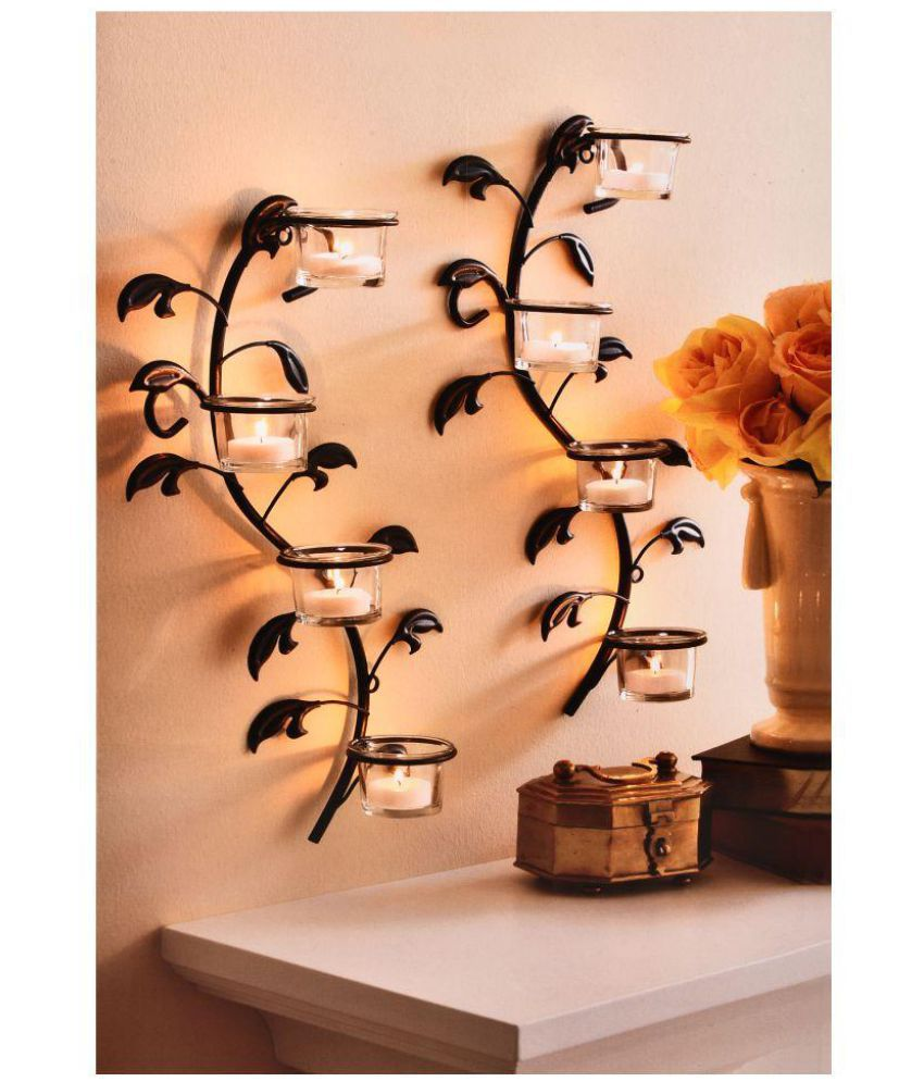 Hosley black metal wall sconce pack of 2 buy hosley black metal hosley black metal wall sconce pack of 2 amipublicfo Choice Image