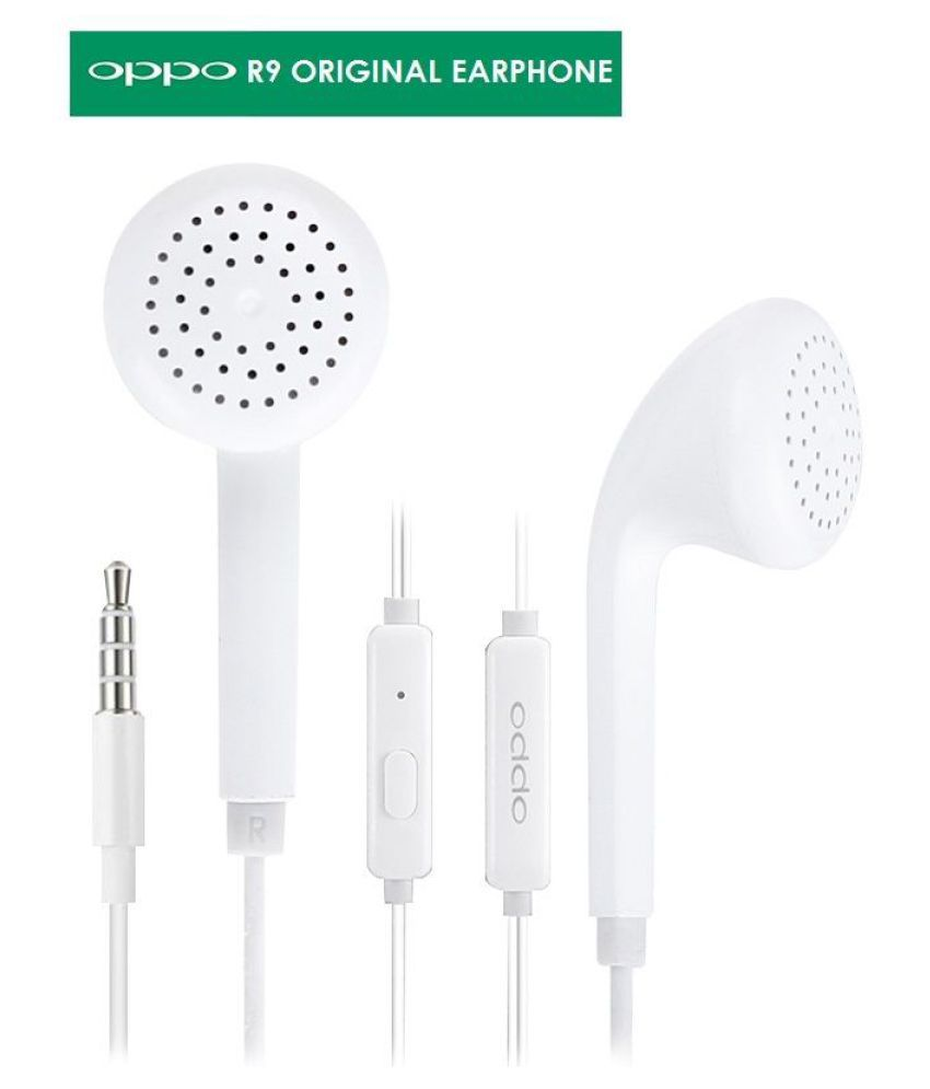 62c83b2f1f5 Buy Oppo Original In Ear Earphone 1 Year Oppo Warranty On Ear Headset with  Mic White Online at Best Price in India - Snapdeal