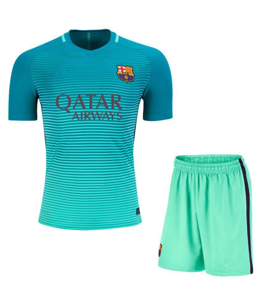 online retailer 75075 173ca Barcelona F.C. Sea Green Polyester Jersey
