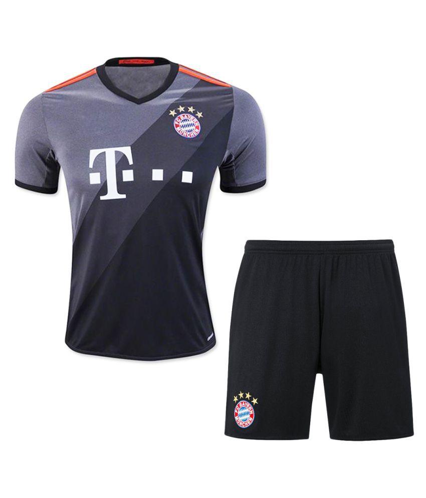 Bayern Munich Grey Polyester Jersey