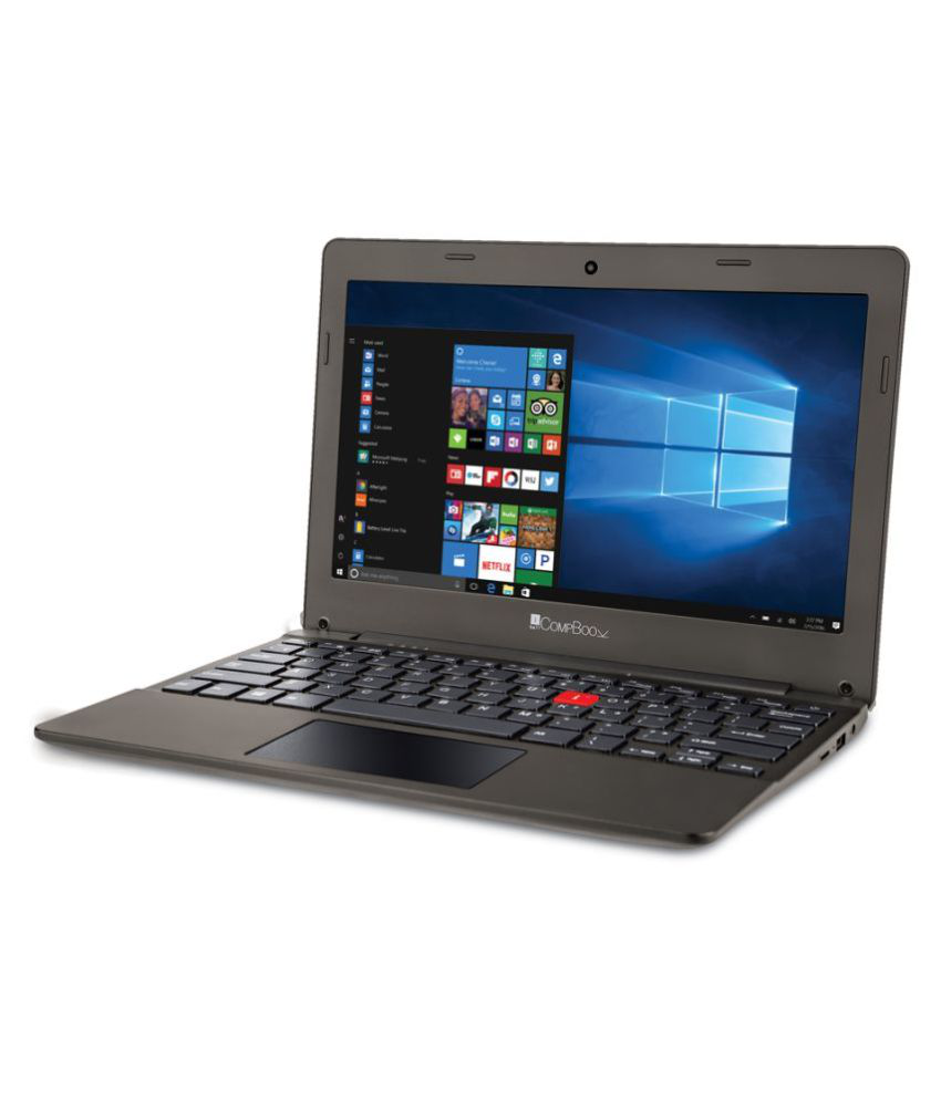 iBall Compbook Excelance OHD Notebook Intel Atom 2 GB 29.46cm(11.6) Windows 10 Home without MS Office Not Applicable brown