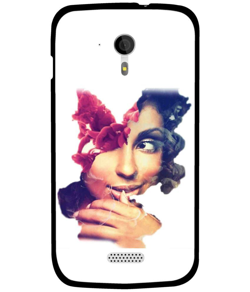 Micromax A116 Printed Cover By Snooky