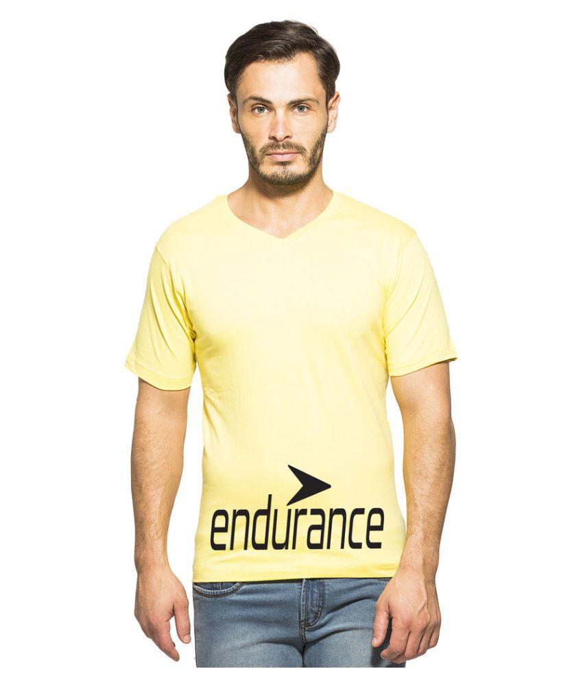 Clifton Yellow V-Neck T-Shirt