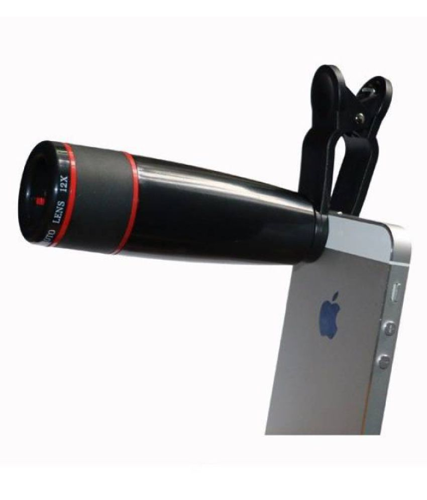 Dice 12X Zoom Lens Monocular for Mobile Phones