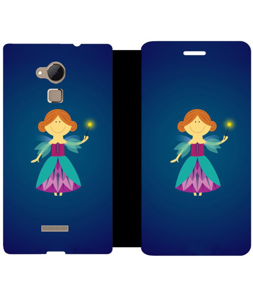 Coolpad Note 3 Flip Cover by Skintice - Blue