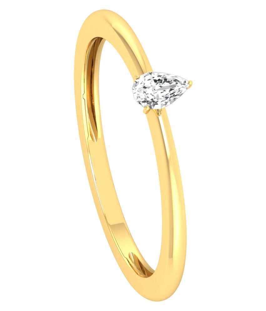 Diamond Farm 18k Yellow Gold Ring