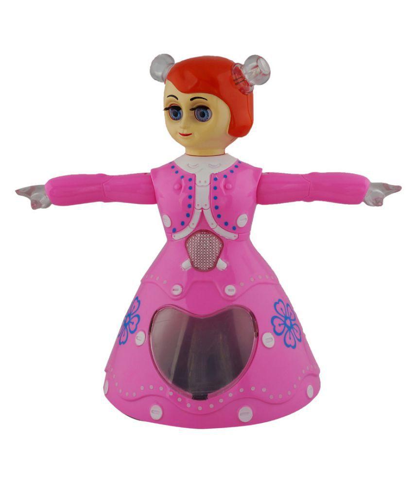 Aarushi Princess Dancing Doll Pink - Buy Aarushi Princess Dancing Doll Pink  Online at Low Price - Snapdeal e3a1aad9c3