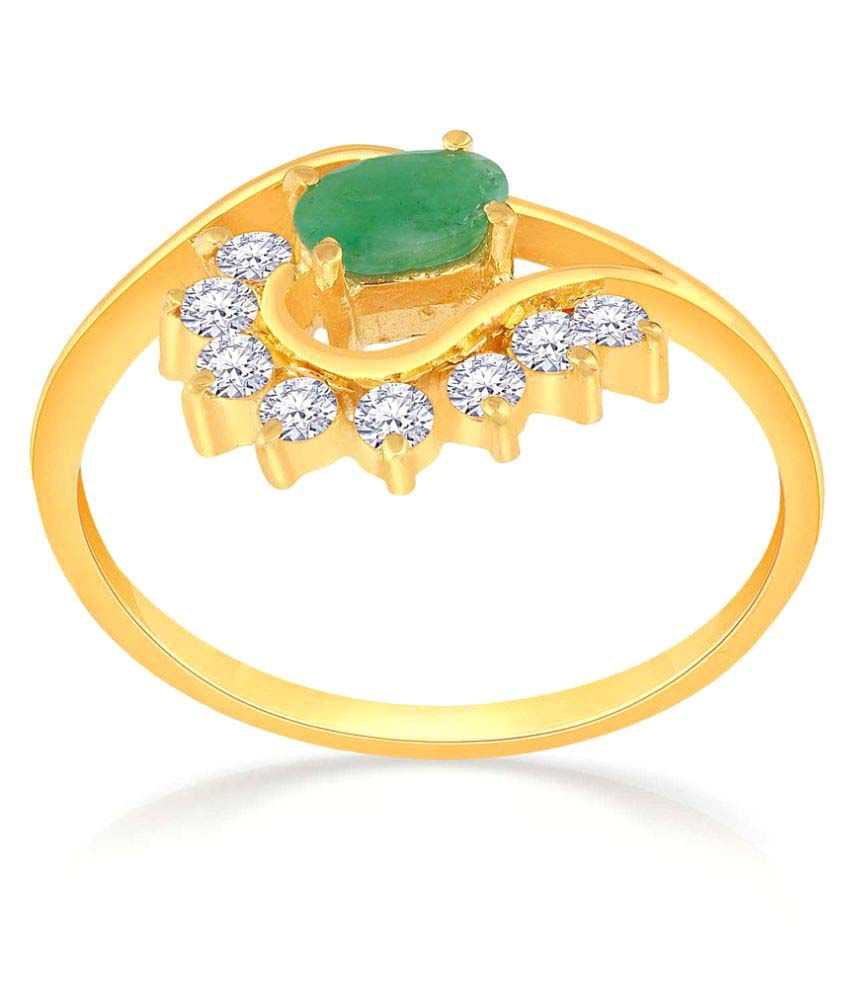 Malabar Gold And Diamonds 22k Yellow Gold Ring
