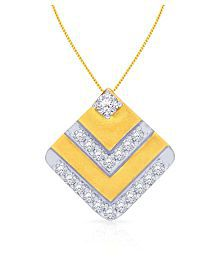 Malabar Gold And Diamonds 18k Yellow Gold Pendant - 678750766348