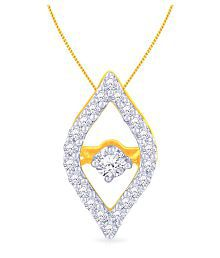 Malabar Gold And Diamonds 18k Yellow Gold Pendant - 686139183559