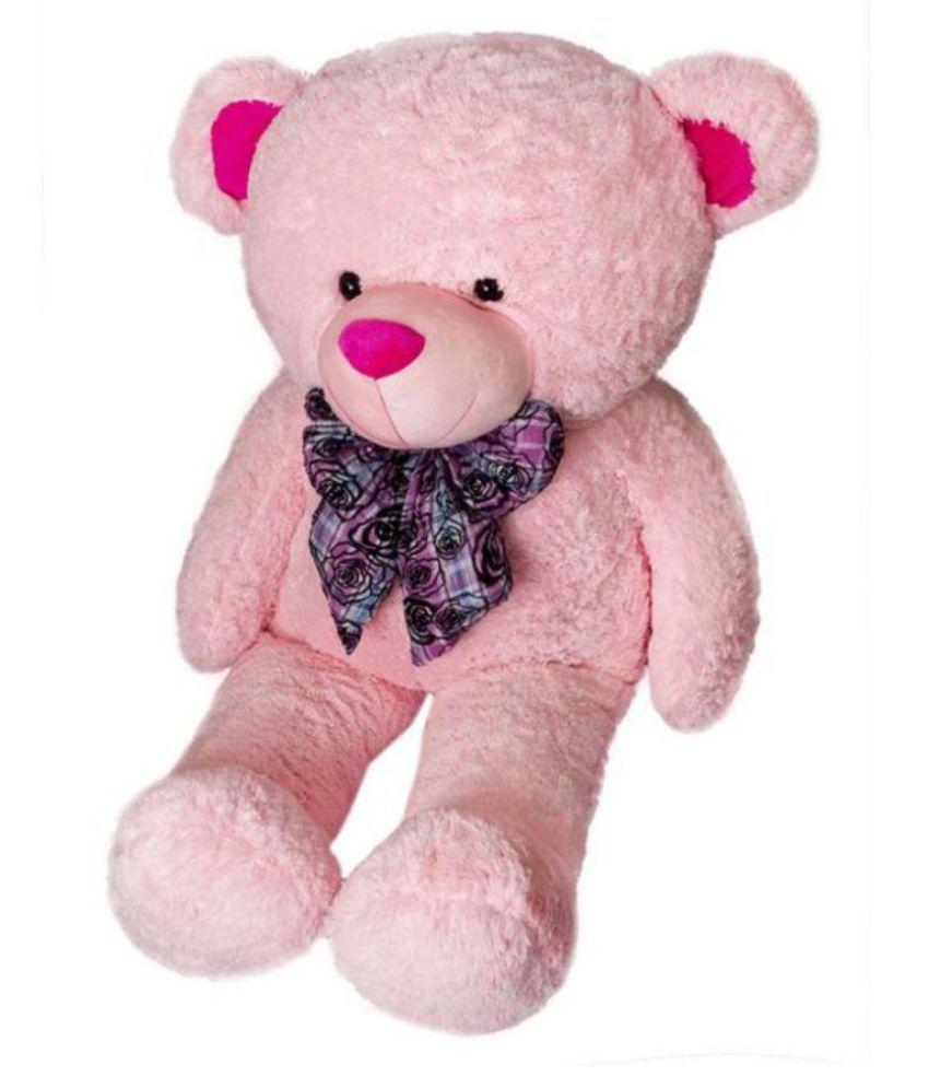 495bbc46cd3 V G Pink Teddy Bear 5 feet - 152 cm - Buy V G Pink Teddy Bear 5 feet ...