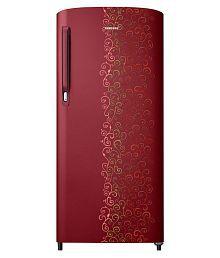 Samsung 192 Ltr 2 Star RR19M14A2RJ/RR19M24A2RJ Single Door Refrigerator - Royal Tendril Red