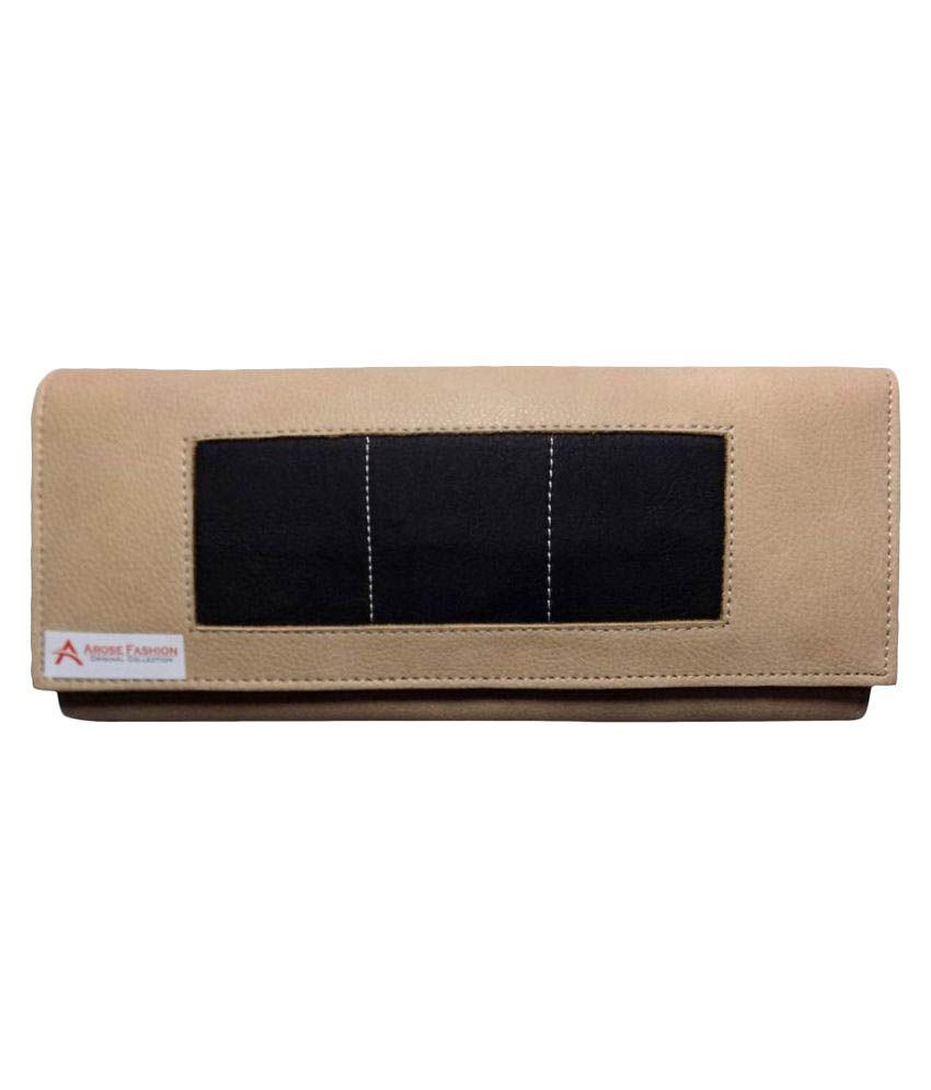 Arosefashion Beige Wallet