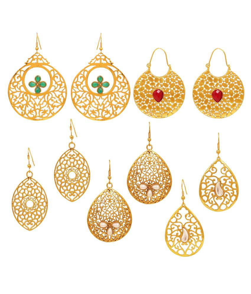 Touchstone Golden Earrings