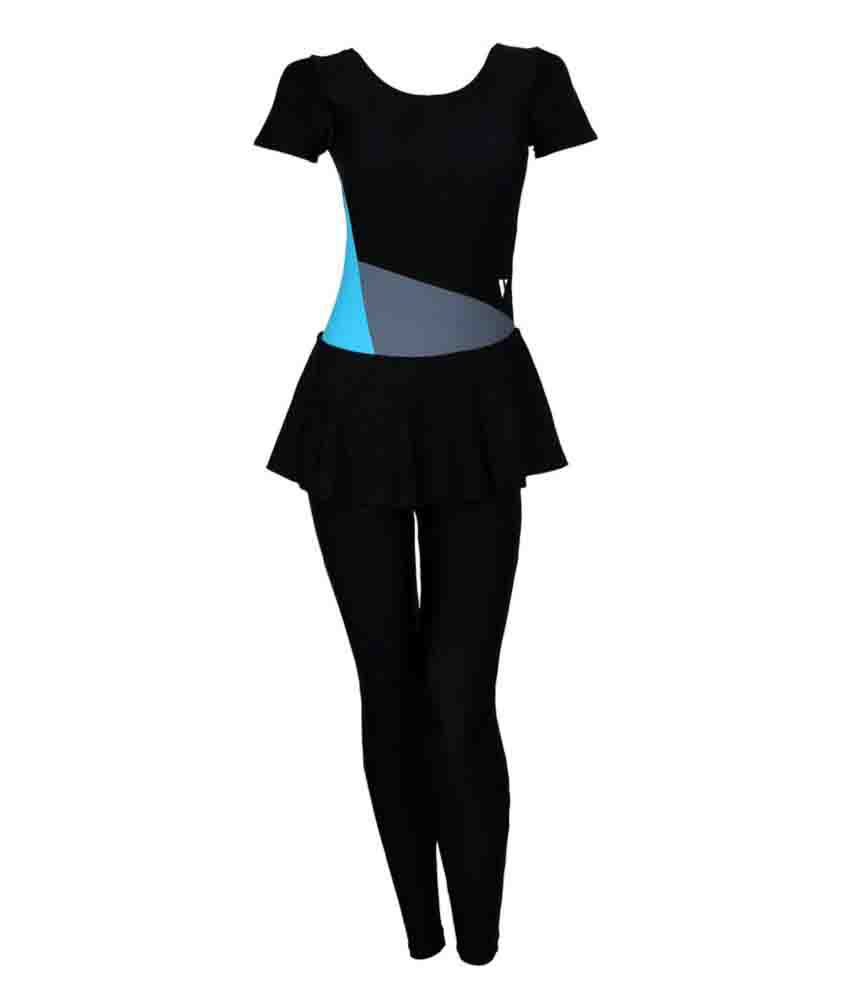 Veloz Nylon Women Swimwear Frock Dress/ Swimming Costume