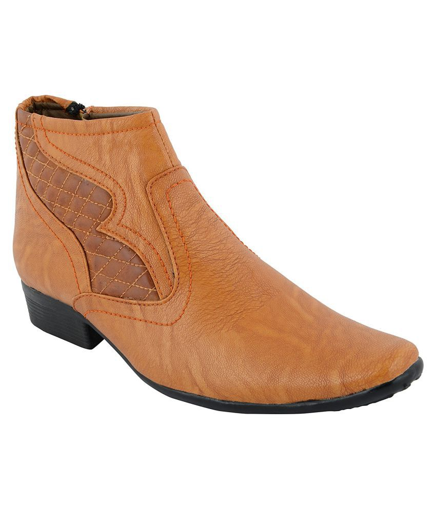 Buywell Beige Casual Boot