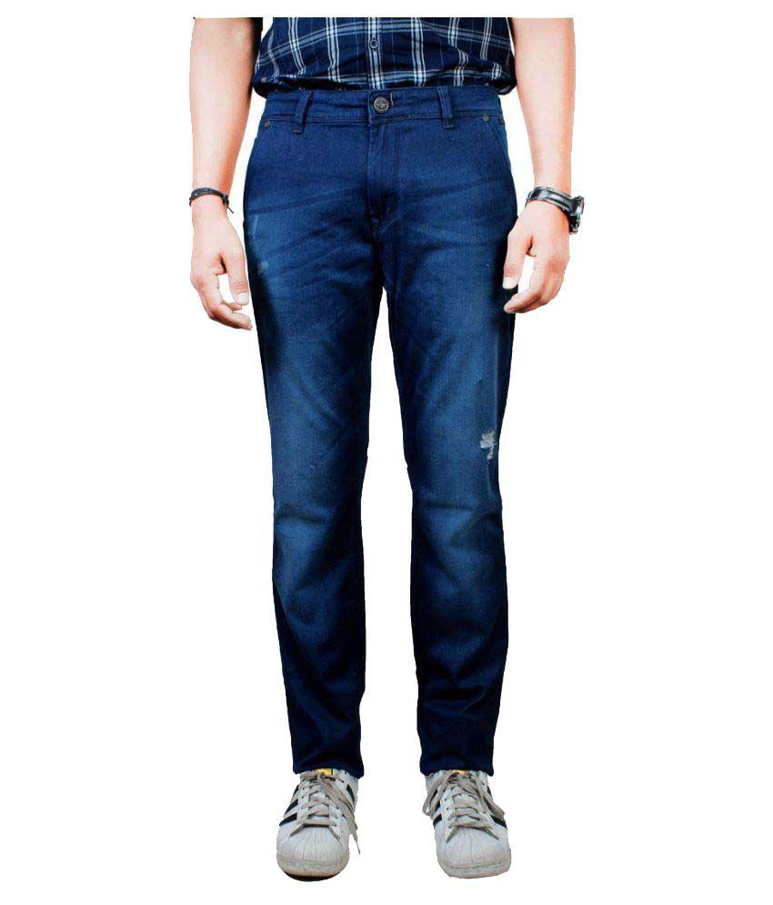 Pontiac Blue Slim Jeans