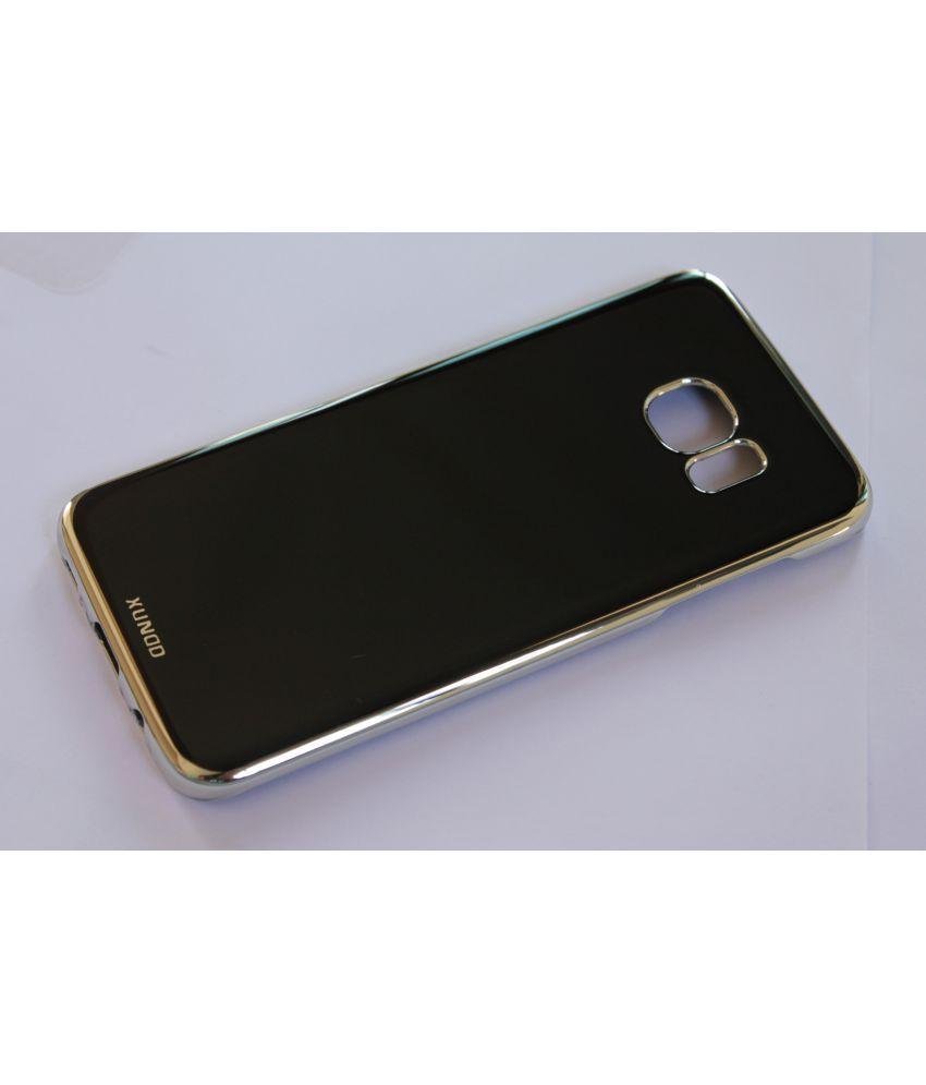 Samsung Galaxy S7 Edge Plain Cases Caseous - Black