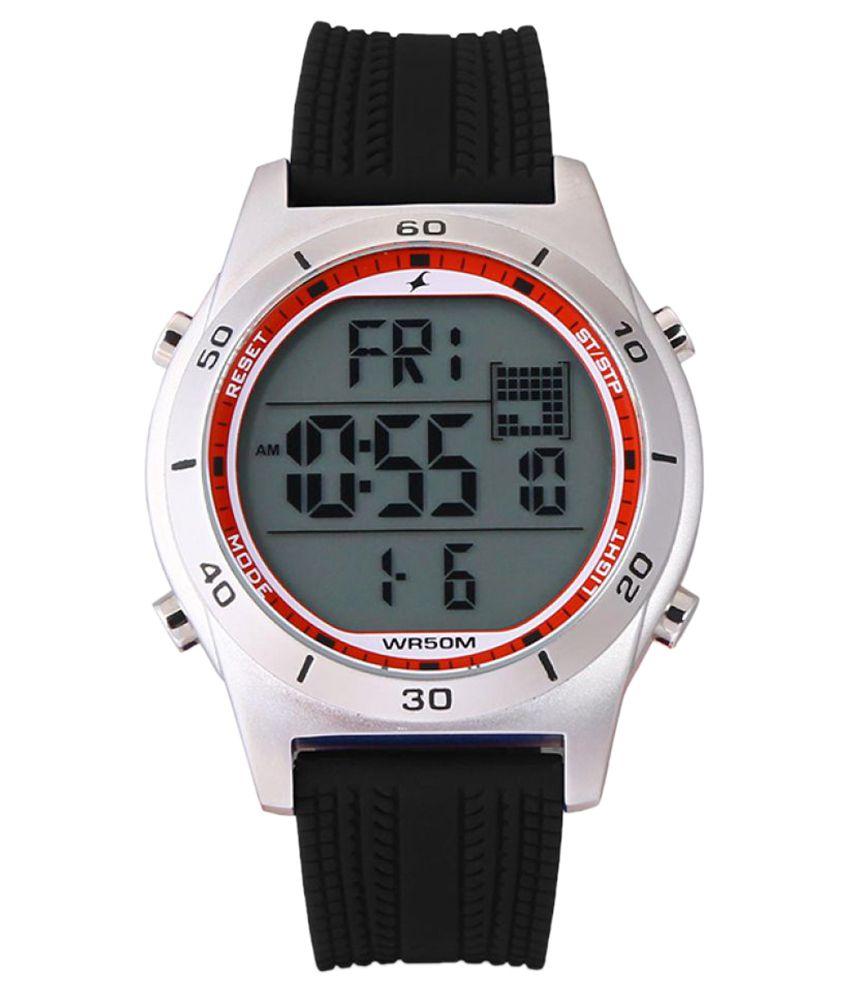 fastrack black digital watch buy fastrack black digital