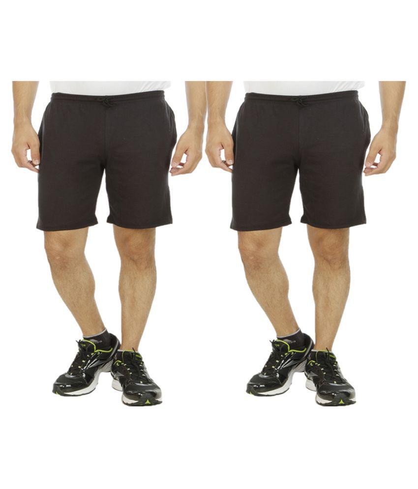 Hardys Collection Black Shorts