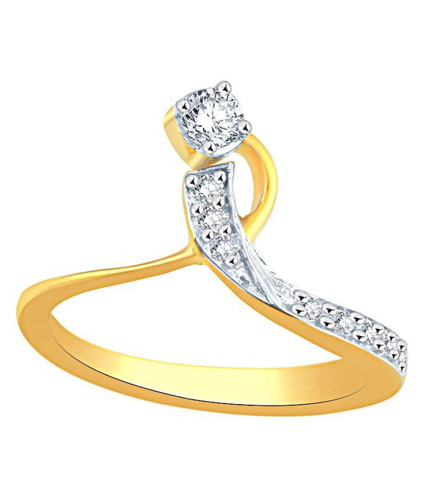 Me-Solitaire 18k Yellow Gold Diamond Ring