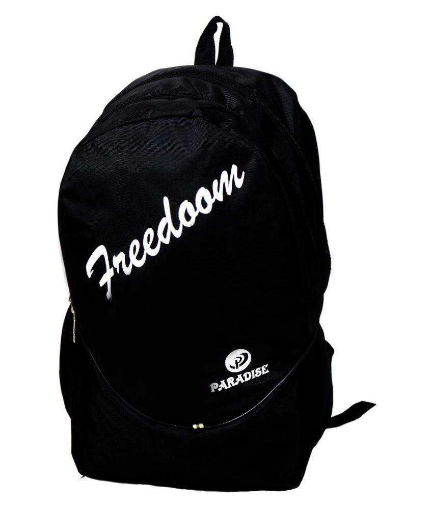 Paradise Black Backpack