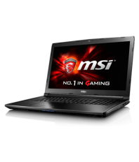 Msi G Series GL62M Notebook Core i5 (7th Generation) 8 GB 39.62cm(15.6) DOS 2 GB Black