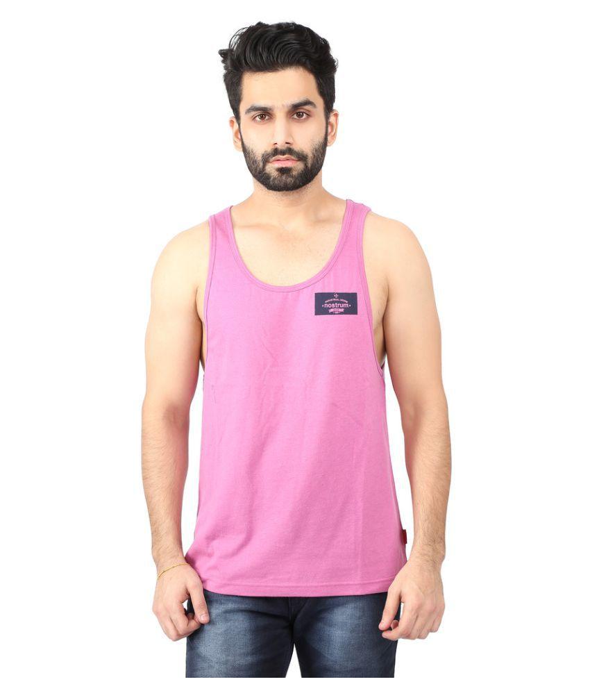 Nostrum Jeans Pink Round T-Shirt