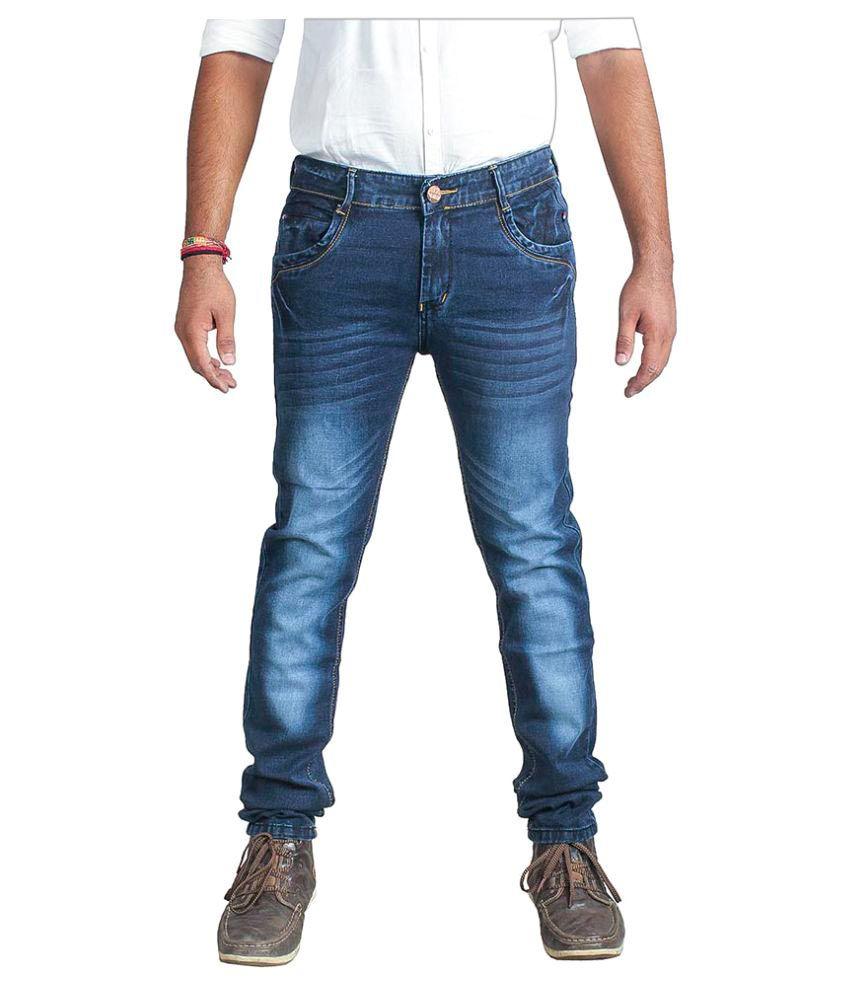 Ragzo Blue Slim Jeans