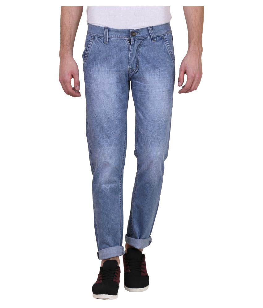 X-Cross Light Blue Slim Jeans