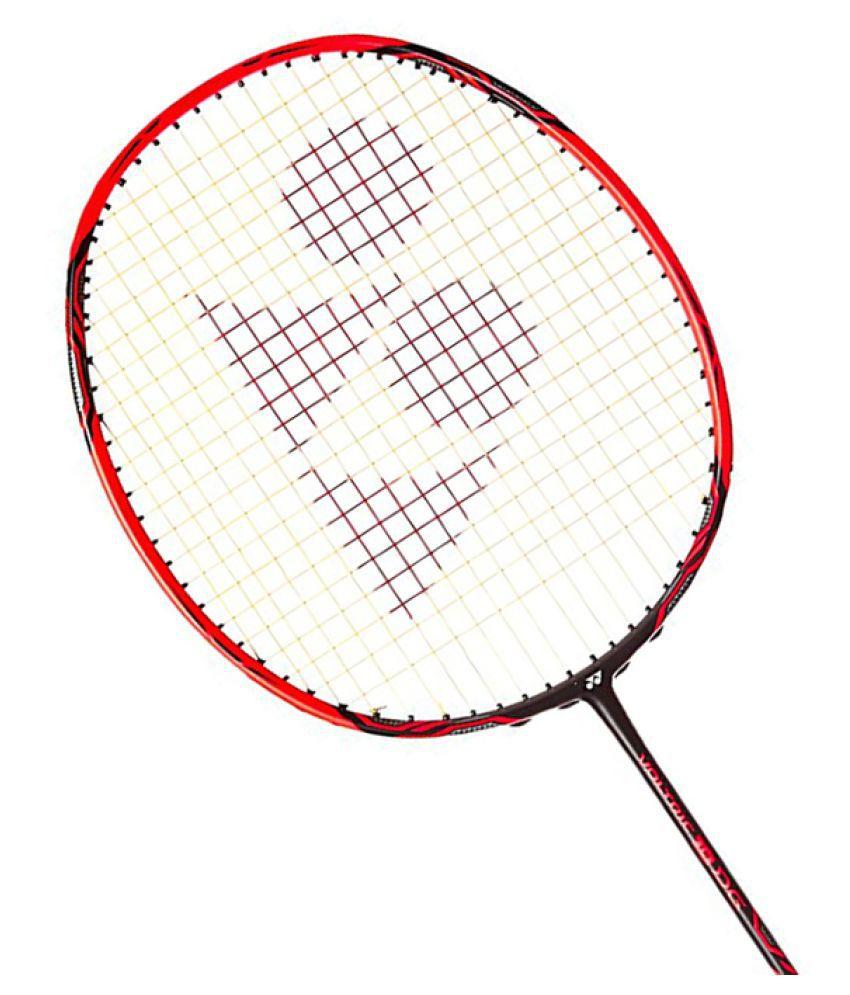 Yonex Voltric 10 DG Badminton Racket RED: Buy Online at ...