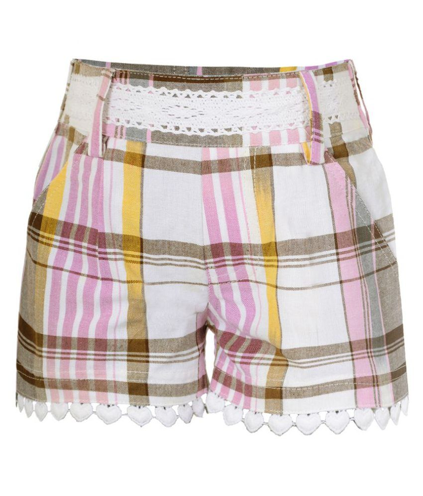 Naughty Ninos Multicolour Mauve Lacy Shorts