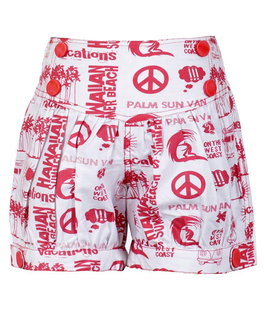 Naughty Ninos Multicolour Printed Hot Pant