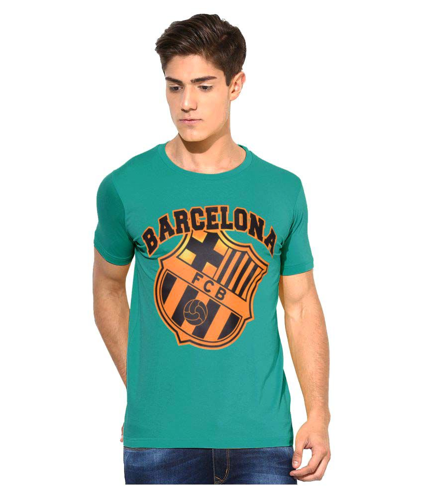 Humtees Green Round T-Shirt
