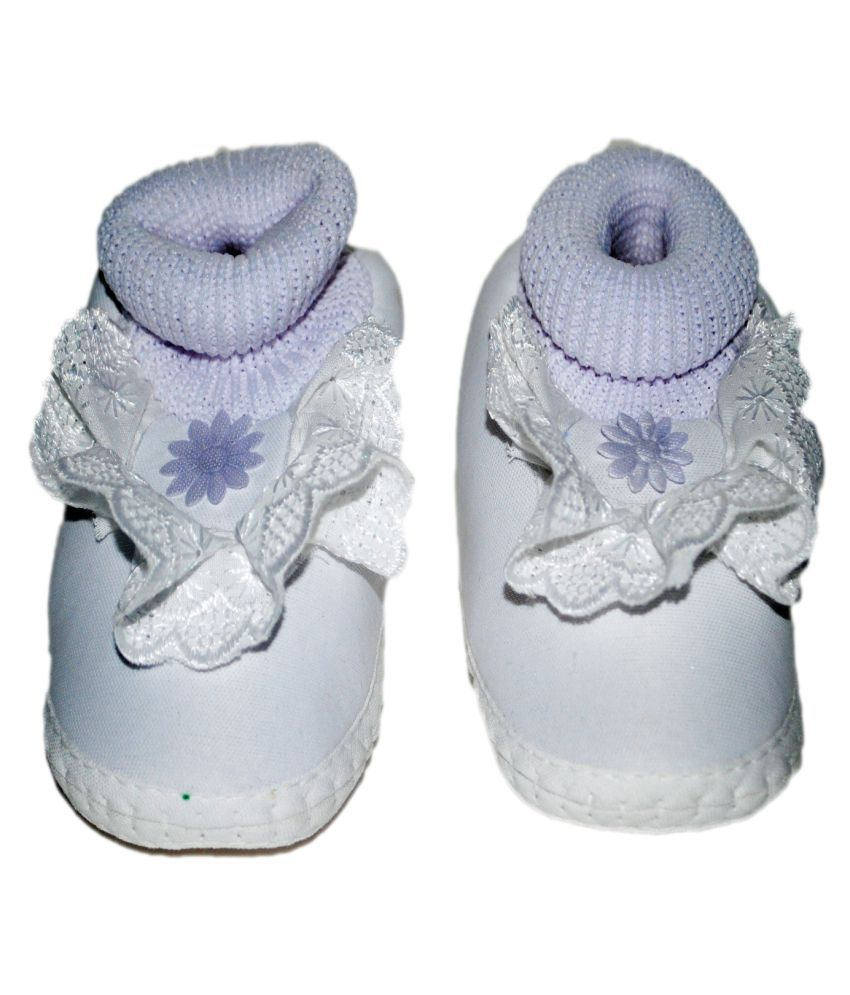 K-Only White Booties for Kids fashion Style sale online many kinds of cheap price find great cheap price FsH9f