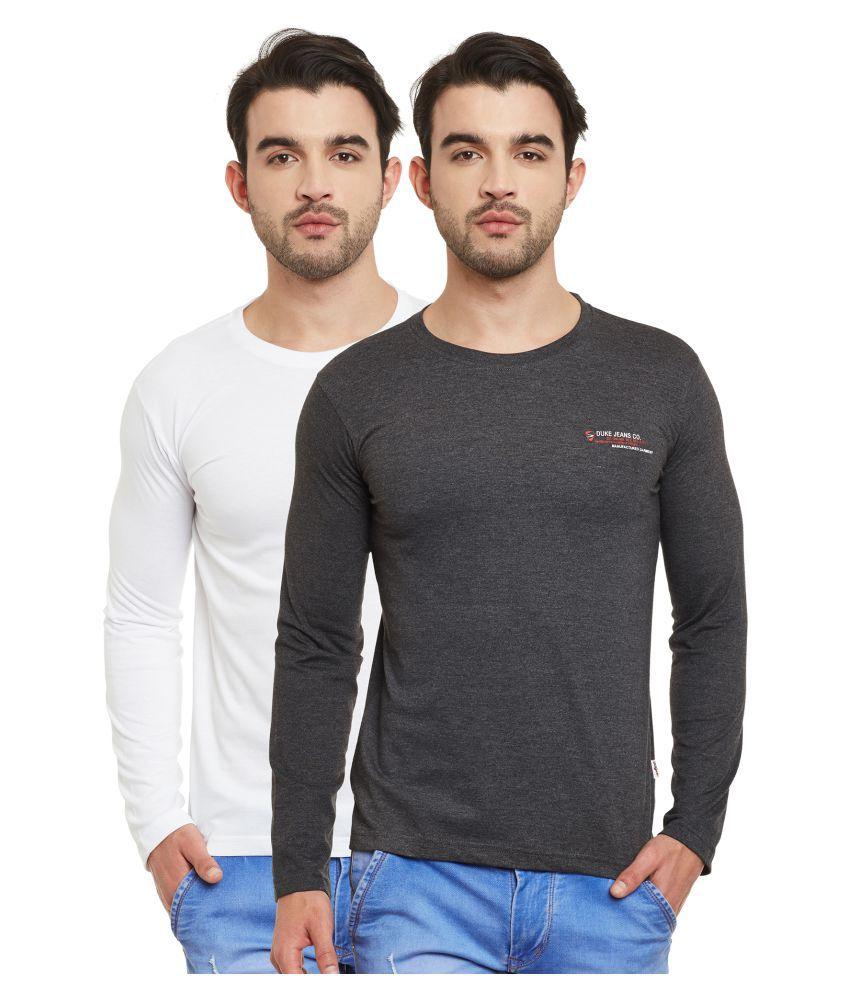 Duke Multi Round T-Shirt Pack of 2