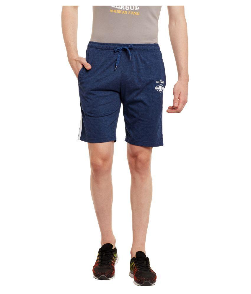 Duke Navy Shorts